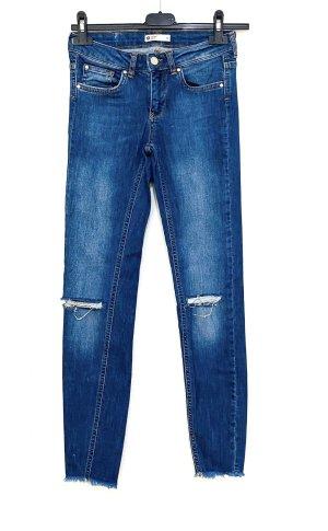 Gina Tricot Jeans cigarette multicolore