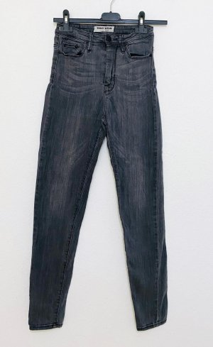 Tally Weijl Low Rise jeans donkergrijs-antraciet