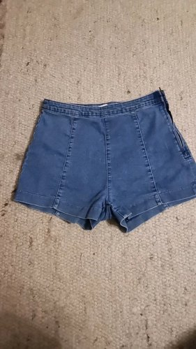 Jeans hot pant high waist