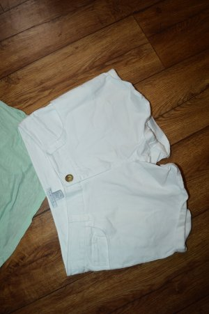 Jeans Hot Pant weiss Gr. 36 Amisu