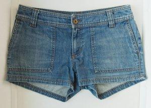 Hennes Collection by H&M Short en jean bleu azur coton
