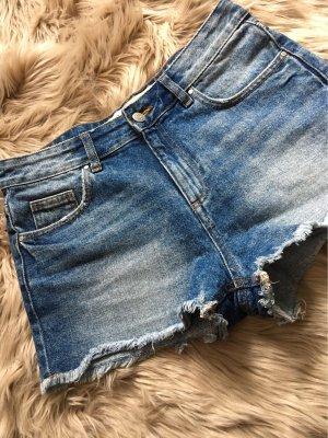 Jeans Hot pants hi waist