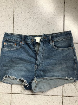H&M Hot pants blauw