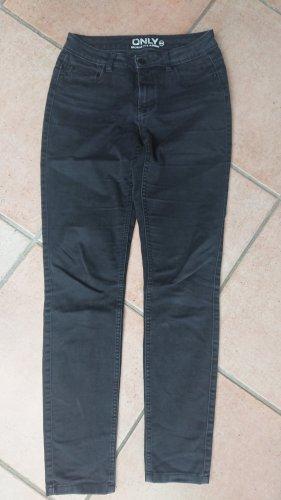 Jeans hüftig eng