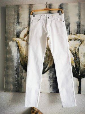 Hugo Boss Jeans slim fit bianco-bianco sporco