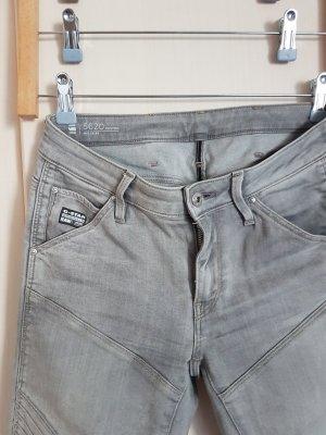 Gstar Five-Pocket Trousers light grey-grey cotton