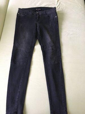 Clockhouse Jeans de moto gris anthracite