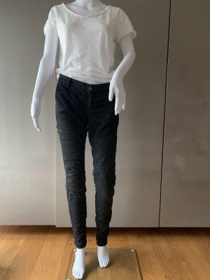 Patrizia Pepe Stretch Trousers black