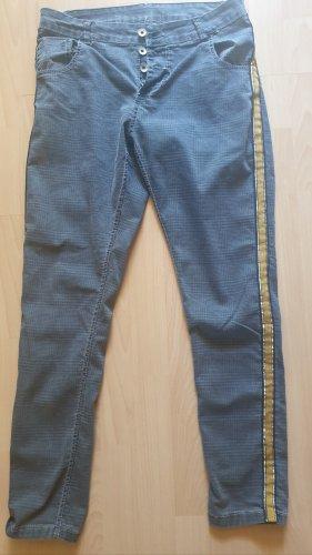 Fussl Boyfriend Trousers multicolored polyester