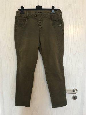 Tom Tailor Denim Jeans boyfriend gris vert
