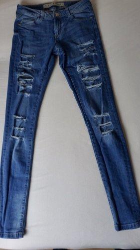 Jeans im Damaged Look