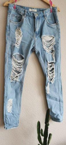 Daysie High Waist Jeans white-azure