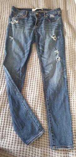 Abercrombie & Fitch Jeans slim fit blu