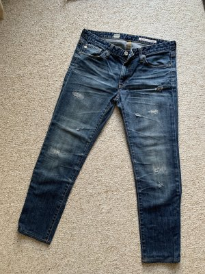 Jeans im used Look von Adriano Goldschmied