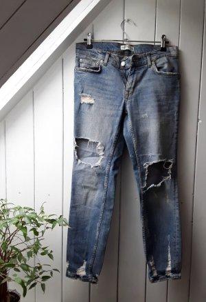 Jeans im Used Look von Zara