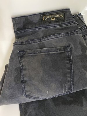 Cimarron Pantalone a vita bassa multicolore