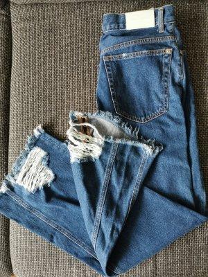 Jeans in Cropped-Länge