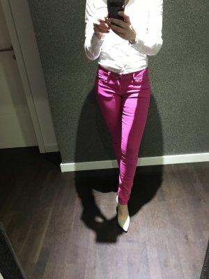 Pantalon cinq poches rose