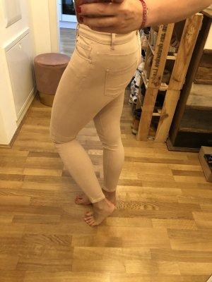 Jeans in rosa von ZARA