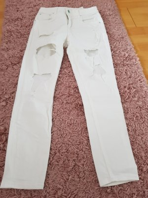 Pepe Jeans Jeans coupe-droite blanc