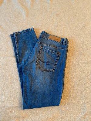 edc Jeansy 3/4 niebieski