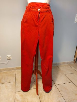 Kenny S. Carrot Jeans dark red