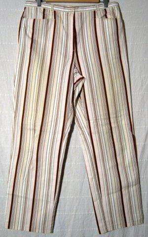 Jeans INFINITY Größe 44 Streifen Hose Dehnbund