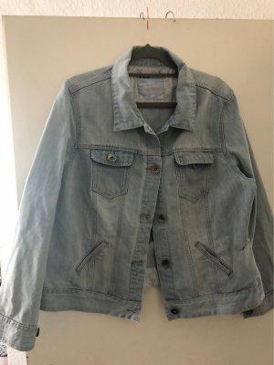 Jeansowa kurtka błękitny