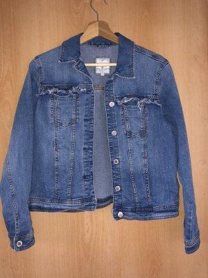 C&A Basics Denim Jacket azure-steel blue