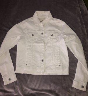 Blue Motion Jeansowa kurtka biały