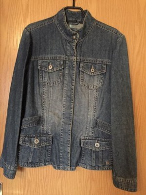 Jeans Jacke, Blau, Gr.40