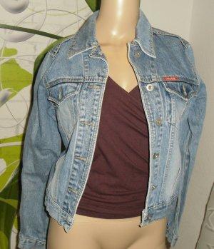 Jeans Jacke, blau, Gr.S (289-GV)