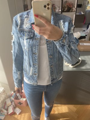 Jeans Jacke Blau neu Gr S