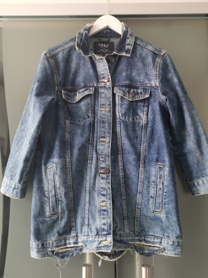 Only Veste en jean bleu coton