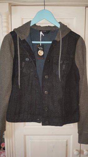 """Jeans-Jacke """"Esmara by Heidi Klum"""" - Sweatjacke - schwarze Jeansjacke Gr. 36"""