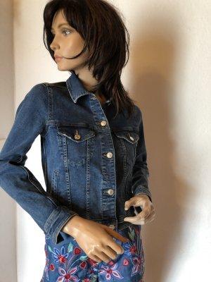 Jeans Jacke Mango XS 34 blau