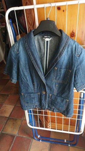 Jeans Jacke mit kurzem Arm