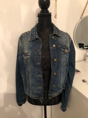Jeans Jacke Oversize