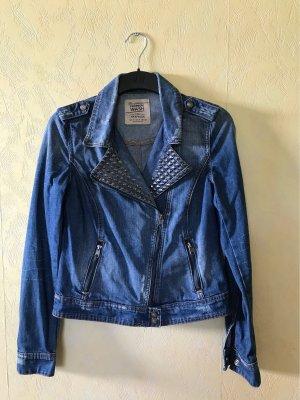 Jeans Jacke Premium Wash mit Nieten von Zara