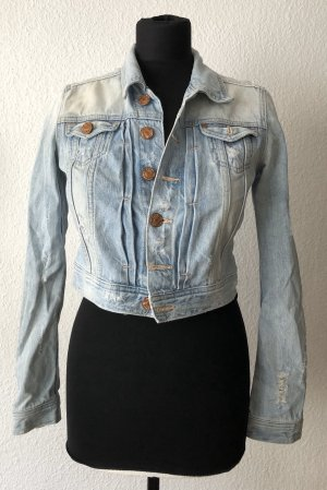❤️❤️Jeans Jacke ❤️❤️ ripped Gr.34 TOPZUSTAND