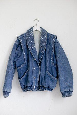 Jeans Jacke True Vintage Blau S