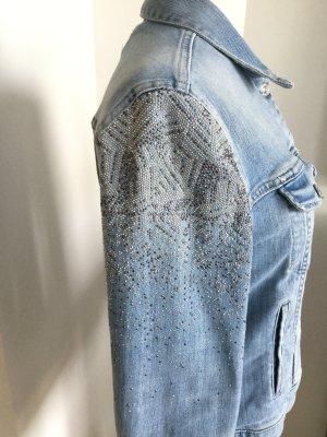 Jeans Jacke von 7 Mann, S