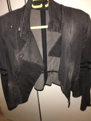 Diesel Blazer in jeans antracite Cotone