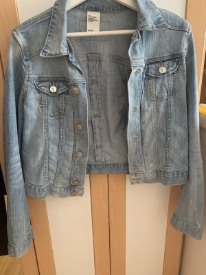 H&M Denim Jacket slate-gray-azure
