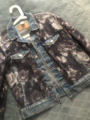 Blazer in jeans multicolore