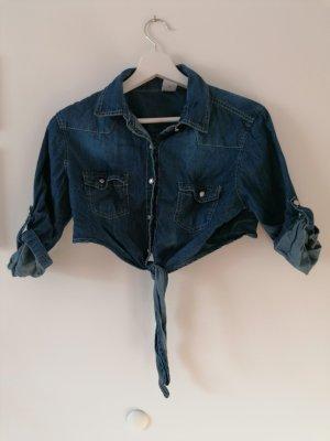 Jeans Jäckchen zum Schnüren
