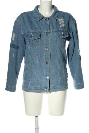 Jeans Jeansjacke blau Casual-Look