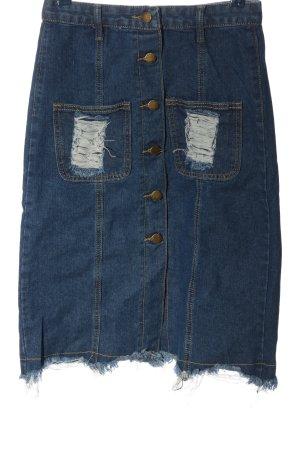 Jeans Jeansrock