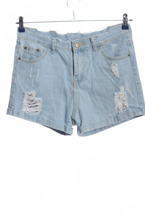 Jeans Jeansshorts blau Casual-Look
