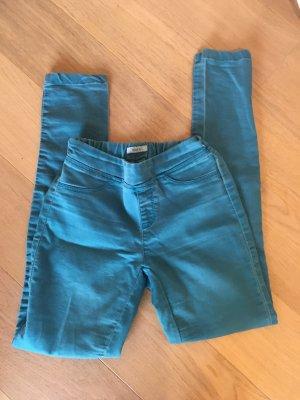 Jeans Jeggings Hose Skinny stretchig türkis petrol Gr. 34